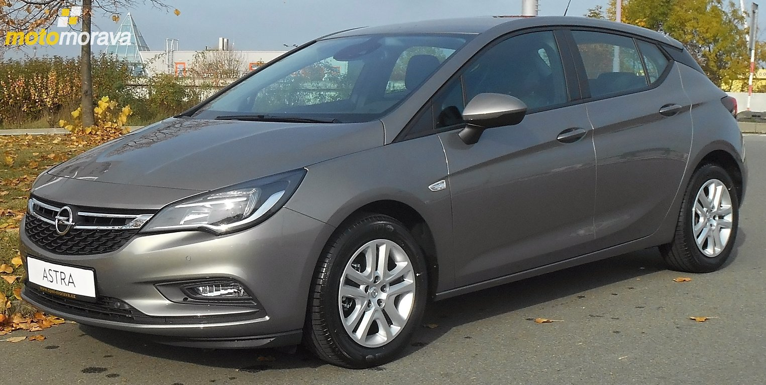 Opel Astra K 1.4T Enjoy Smile 5dv